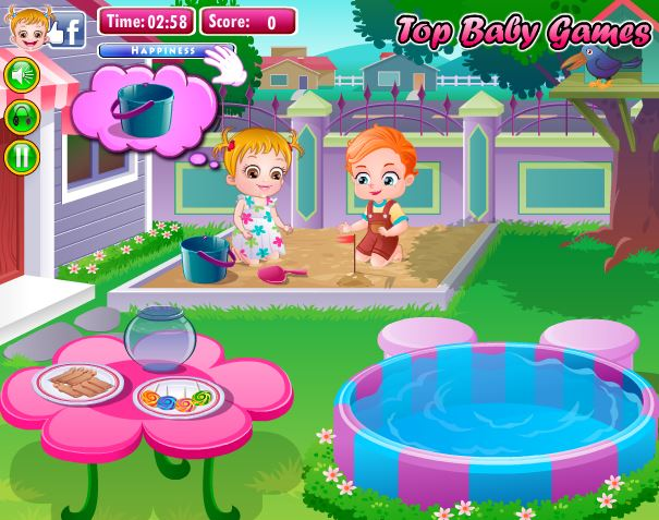 play baby hazel online games allwebarticles4babyhazelgames. Black Bedroom Furniture Sets. Home Design Ideas